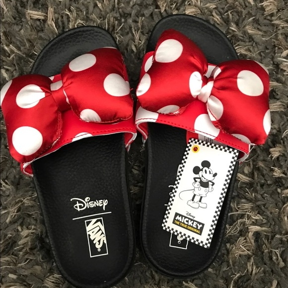 0ffb5d487b40 Vans Minnie Mouse Slide